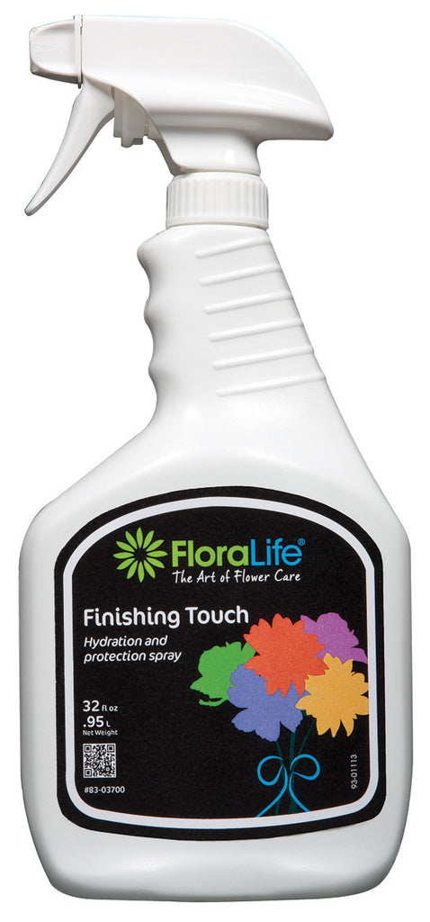 83-03700 FLORALIFE® FINISHING TOUCH SPRAY 32OZ - CS(12)