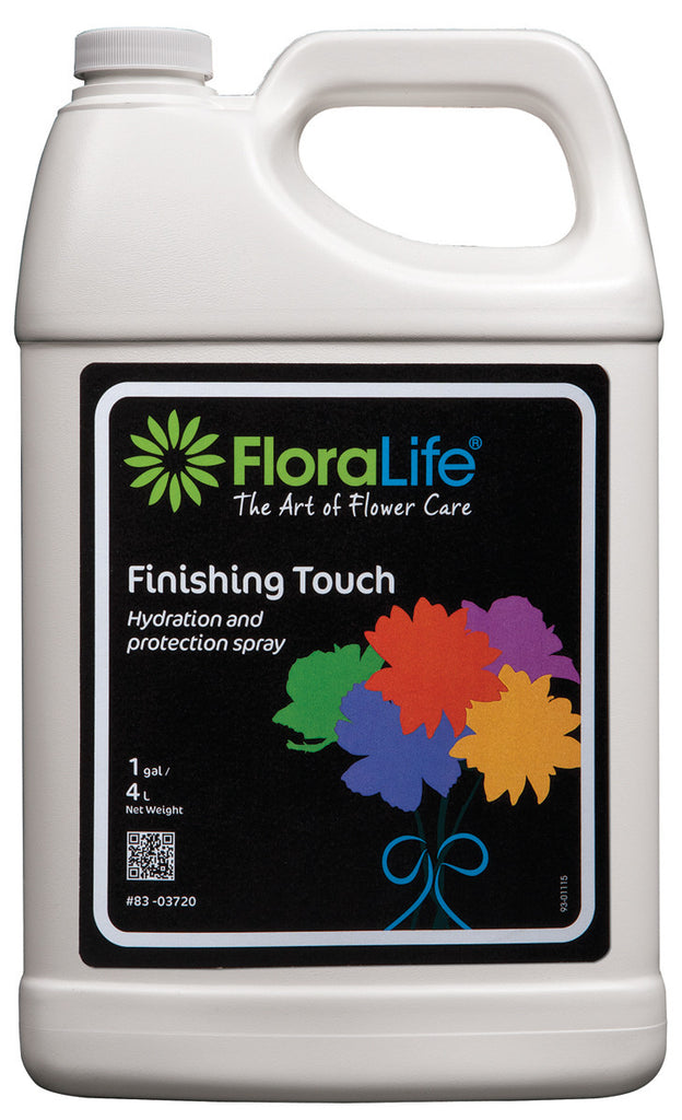 83-03720 FLORALIFE® FINISHING TOUCH SPRAY 1GAL - CS(6)