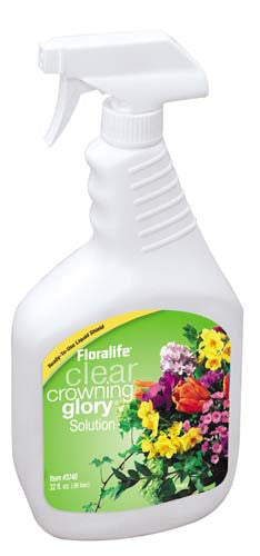 83-03740 Floralife® Clear Crowning Glory® Solution 32oz - CS(12)