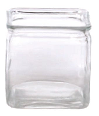 "9-475GLS/1CL EVERYDAY CLEAR CUBE 4.75X4.75"" - CS(12)"
