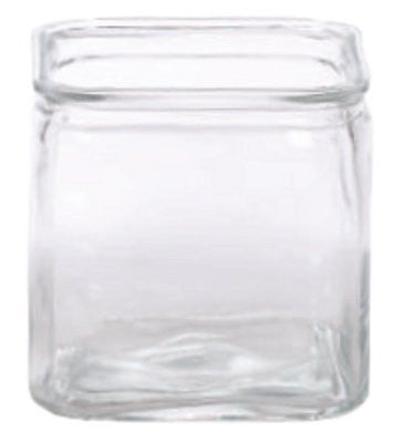 "9-669GLS/1CL EVERYDAY CLEAR CUBE 5.5X5.5"" - CS(8)"