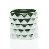 "90160.00 ARCHITECT POT 4.75X4"" - SILVER - CS(24)"