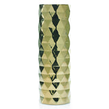 "90167.40 ARCHITECT VASE 5.25X16"" - GOLD - CS(6)"