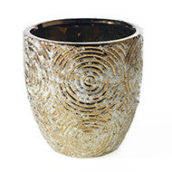 "90170.40 STRATA POT 6X6"" - GOLD - CS(8)"