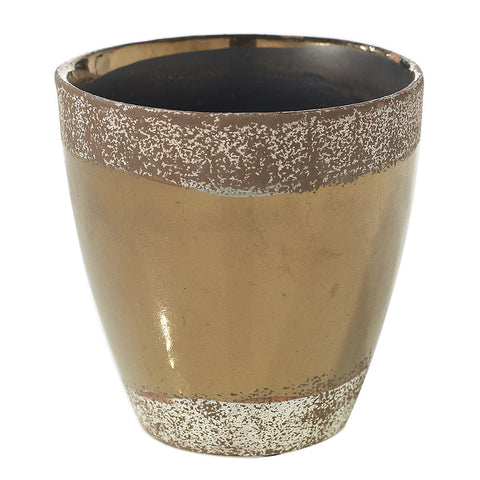 "91021.65 ESSENCE POT 5X5"" - BRONZE - CS(12)"