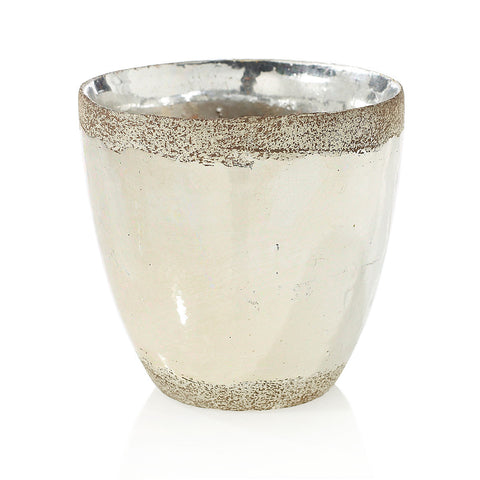 "91022.50 ESSENCE POT 5.7X5.5"" - SILVER - CS(8)"