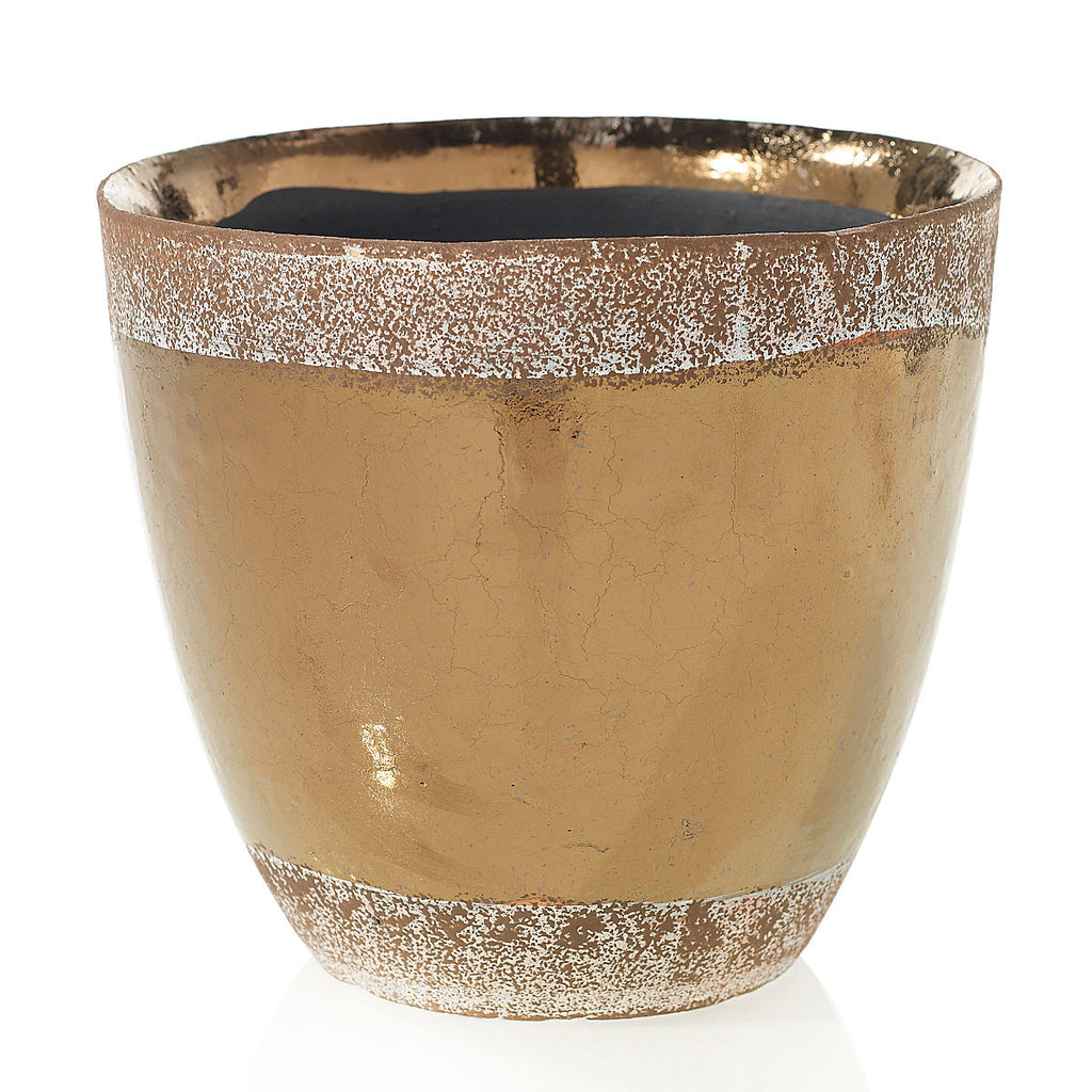 "91024.65 ESSENCE POT 8X7.7"" - BRONZE - CS(4)"