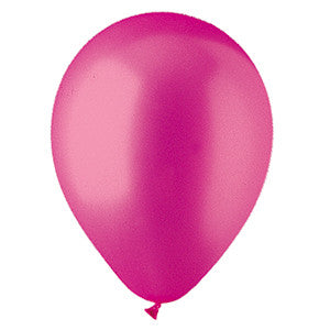 "912188 LATEX BALLOON 12"" - MAGENTA PEARL - BAG/100  CASE(6)"