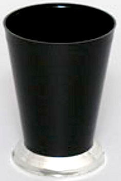 "920BK Mint Julep Cup 3.25x4.25"" - Black - Cs(36)"