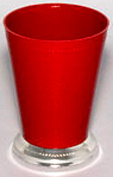 "920RD Mint Julep Cup 3.25x4.25"" - Red - Cs(36)"