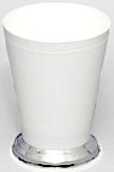 "920W Mint Julep Cup 3.25x4.25"" - White - Cs(36)"