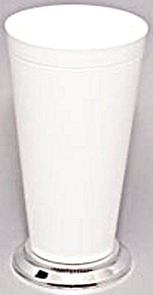 "930W Mint Julep Cup 4x7.5"" - White - Cs(12)"