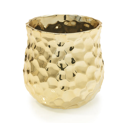"94680.40 JAZZ POT 4.25X4.25"" - GOLD - CS(24)"
