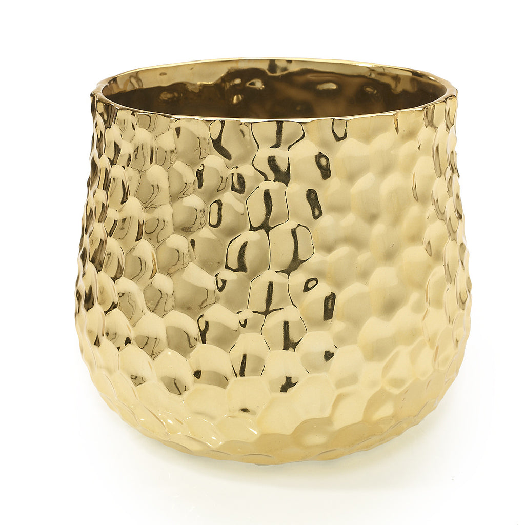 "94682.40 JAZZ POT 7.5X6.5"" - GOLD - CS(6)"