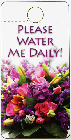 "TT0003 Tell Tag - ""Water Daily"" - PKG/100 CS(10)"
