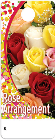 CT0028 Care Tag - Rose Arrangement