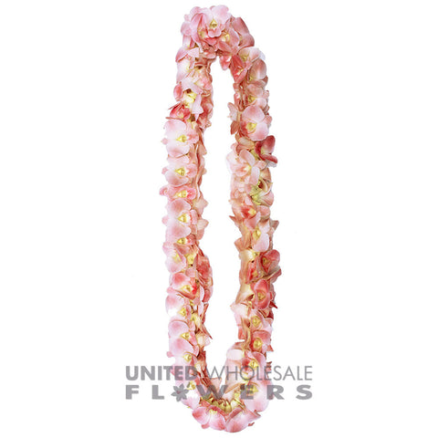 FRESH DOUBLE LEIS - PINK