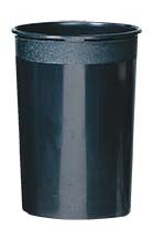 "E34-06-04 COOLER BUCKET 10x15"" - BLACK - CS(6)"