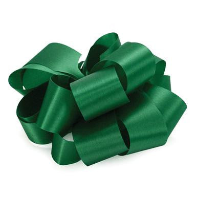 "R1.5 Acetate Satin Ribbon 5/16""x100yds - Holiday Green - CS(12)"