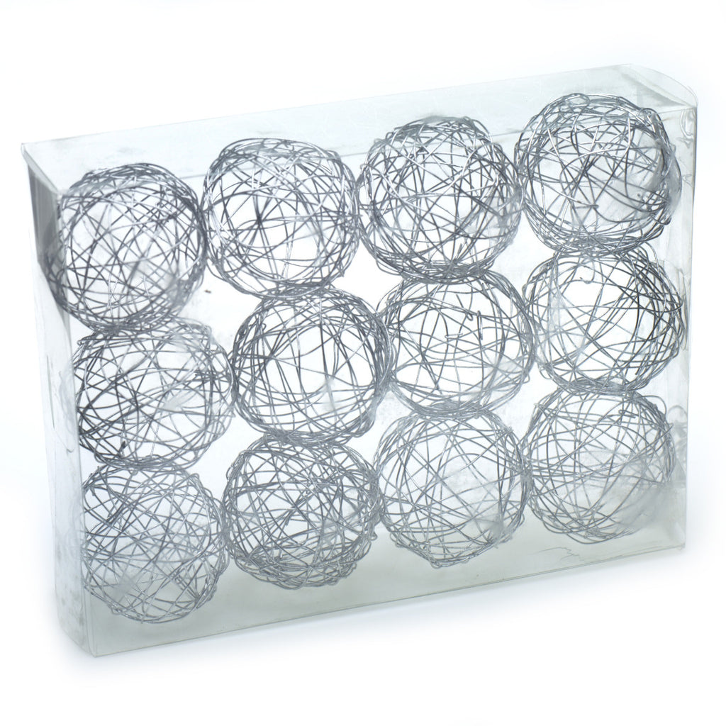 "29811.50 Wire Sphere 2"" - Silver - BX/12 CS(24)"