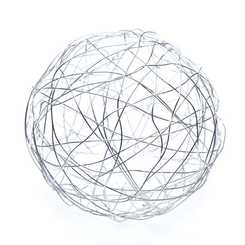 "29815.50 Wire Sphere 8"" - Silver - CS(16)"