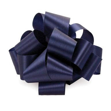 "R1.5 Acetate Satin Ribbon 5/16""x100yds - Navy - CS(12)"