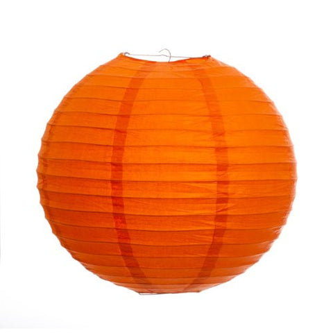"12EVP-OR PAPER LANTERN 12"" ORANGE CS - 6"