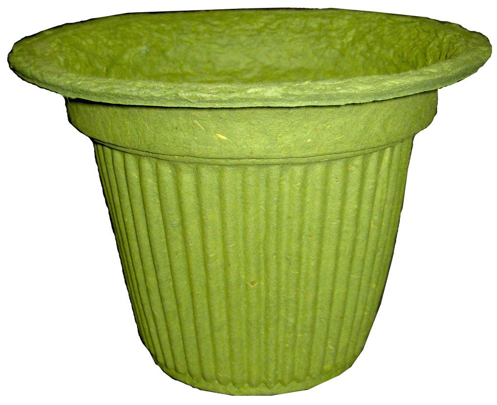PM7 Recreation Pot Mache - Green 7x7""