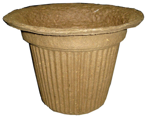 PM8 Recreation Pot Mache - Light Brown 8x8""