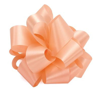 "R9PEACH Acetate Satin Ribbon 1 5/6""x100yds - PEACH- CS(12)"