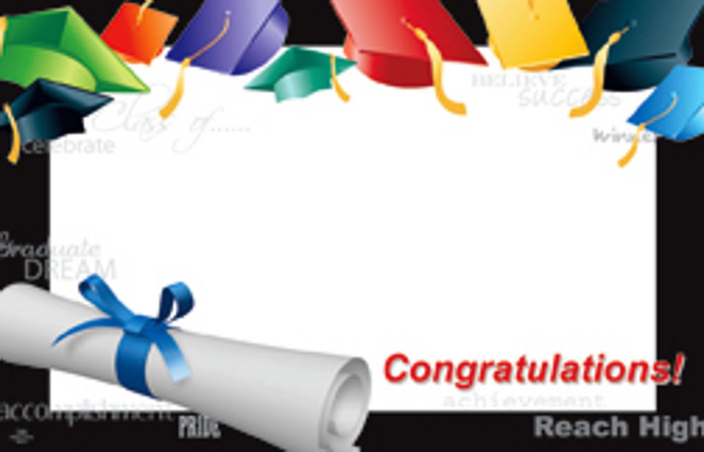 SP0055 CAPRI CARD - GRADUATION - PKG/50 CS(10)