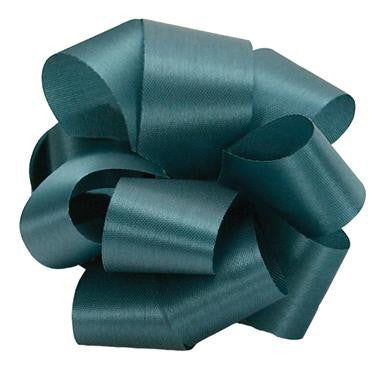 "R1.5 Acetate Satin Ribbon 5/16""x100yds - Teal - CS(12)"