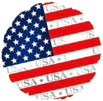 "114459 AMERICAN FLAG BALLOON 18"" - PKG/5  CASE(10)"