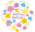 "414451 HAPPY BIRTHDAY BALLOON 18"" - PKG/5  CASE(10)"