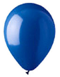 "912112 LATEX BALLOON 12"" - BLUE - BAG/100  CASE(6)"