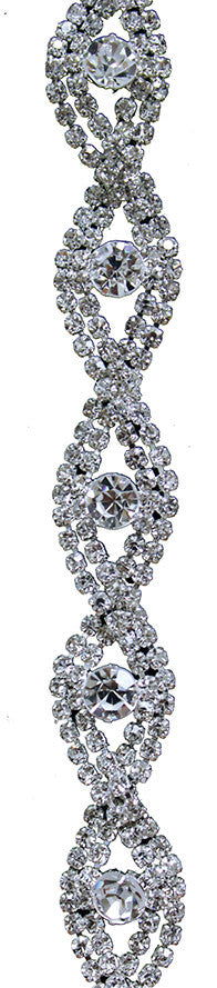 "Copy of ds12-040 - round diamond fig approx. 0.65"" w (1 yard)"