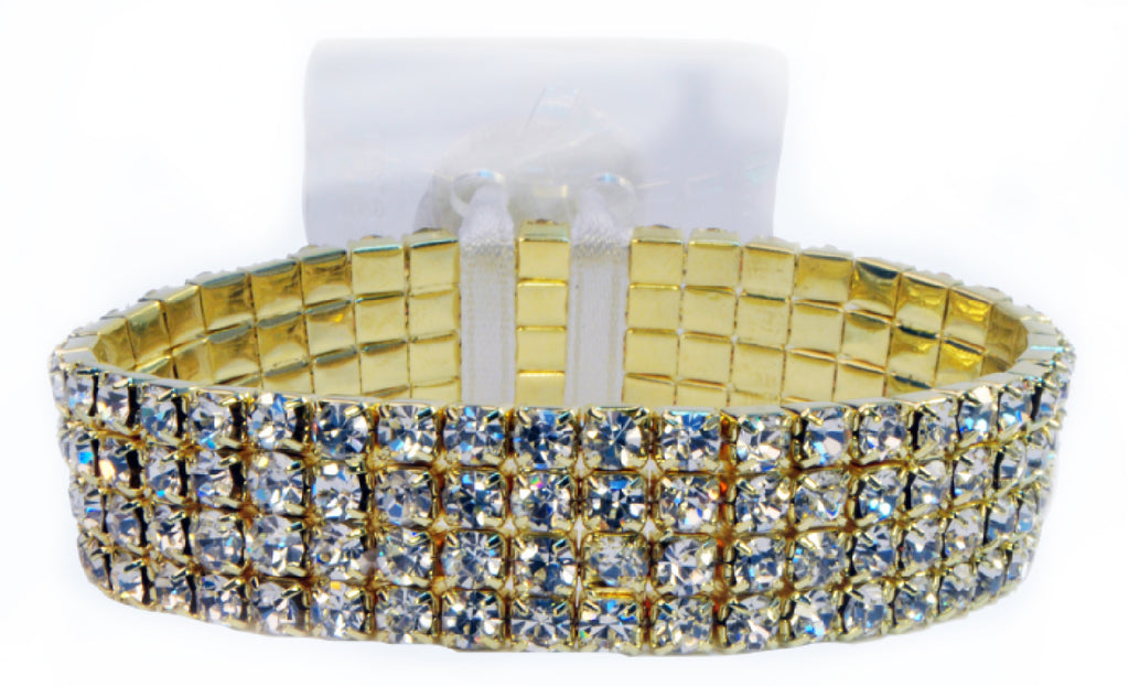 RC208 Karat Rock Candy Bracelet - Gold - CS(12)