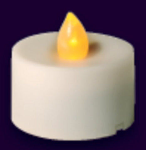 LEDCDL Battery Operated Candle Amber 1.5 x 1.5 Box.12. Case (6)