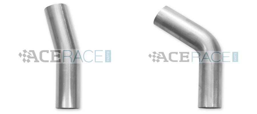 Ace Race Parts Mandrel Bends for Exhaust Pipes