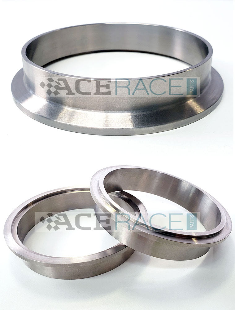 Titanium V-Band Flanges Titanium V-Band Titanium V-Band Clamps and Flanges