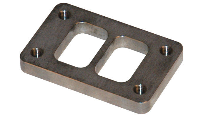 Vibrant T3 Turbo Inlet Flange (Divided) — Mild Steel - Ace Race Parts