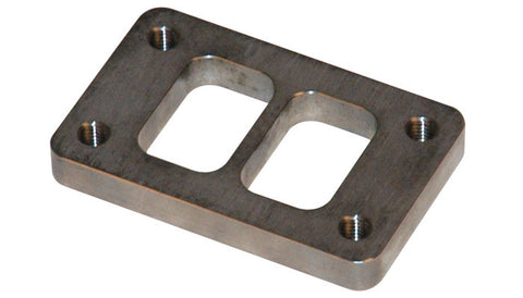 Vibrant T3 Turbo Inlet Flange (Divided) — 304L Stainless - Ace Race Parts