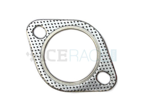 "2.500"" 2-Bolt Exhaust Flange Gasket (Slotted)"