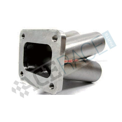 "T4 Undivided Inlet 4-1 Merge Collector (1-1/2"" Schedule 10) - 304 Stainless - Ace Race Parts"