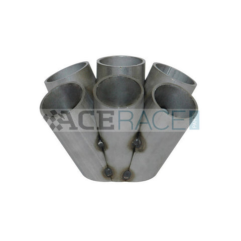 "T4 6-1 Merge Collector (1-1/2"" Schedule 10) - 304 Stainless - Ace Race Parts"