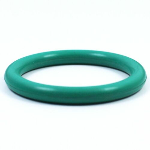 "4.000"" Green Fluororubber O-Ring for Male/Female Style Aluminum V-Band Flanges"
