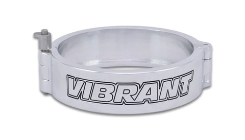 "Vibrant VanJen HD Clamp for 4.000"" OD Tubing - Polished (12538P) - Ace Race Parts"