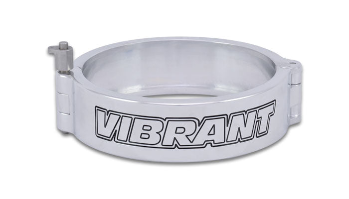 "Vibrant VanJen HD Clamp for 5.000"" OD Tubing - Polished (12540P) - Ace Race Parts"