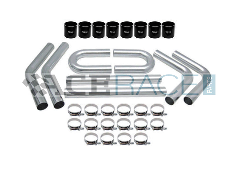 "2.500"" Universal Intercooler Piping Kit - Ace Race Parts"