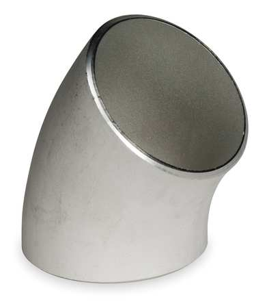 "1-1/2"" Schedule 10 45° Elbow 321 Stainless - Ace Race Parts"